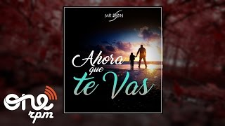 11. Mr.Don - Ahora que te Vas (Cover Christian Daniel)