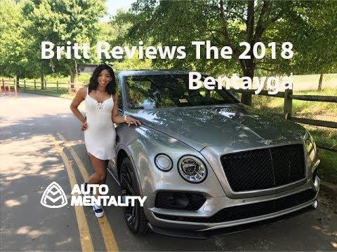 Britt Reviews the 2018 Bentley Bentayga Black Edition