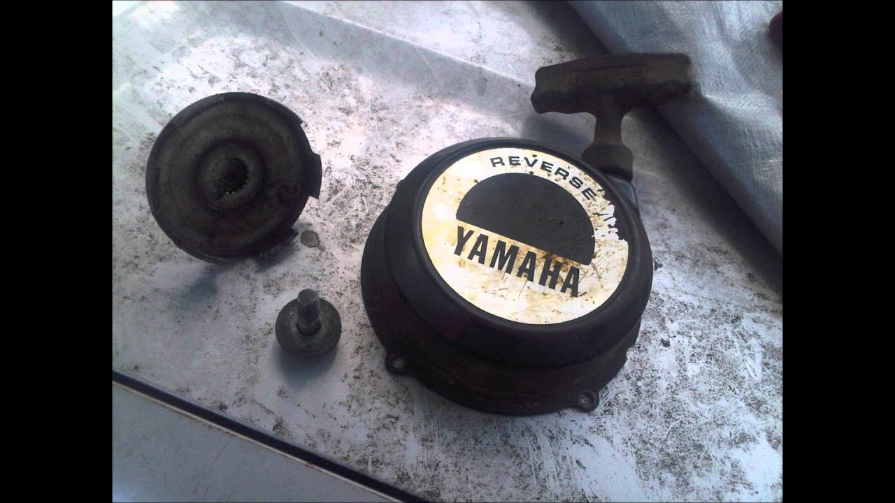 Yamaha Big Bear 350 recoil start install - YouTube