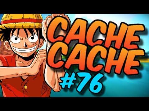 CACHE CACHE SUR MINECRAFT ! MAP ONE PIECE ! EPISODE 76 !