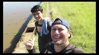 PESCARIA NO GUAÍBA- FIRST TIME FISHING COM GABRIEL BARREIRO