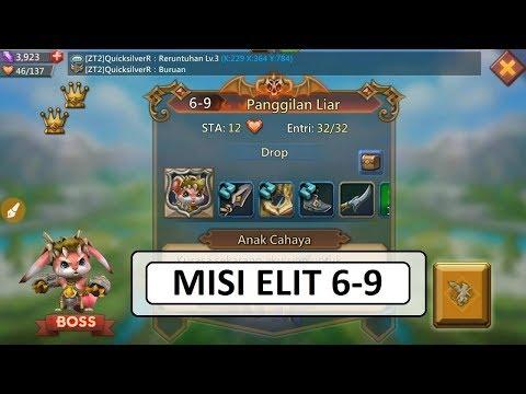 Kombinasi Hero MISI ELIT 6-9 (Mission ELITE 6-9) _ LORDS MOBILE