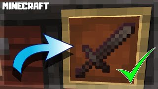 How to Make a NETHERITE SWORD in Minecraft! 1.16.1