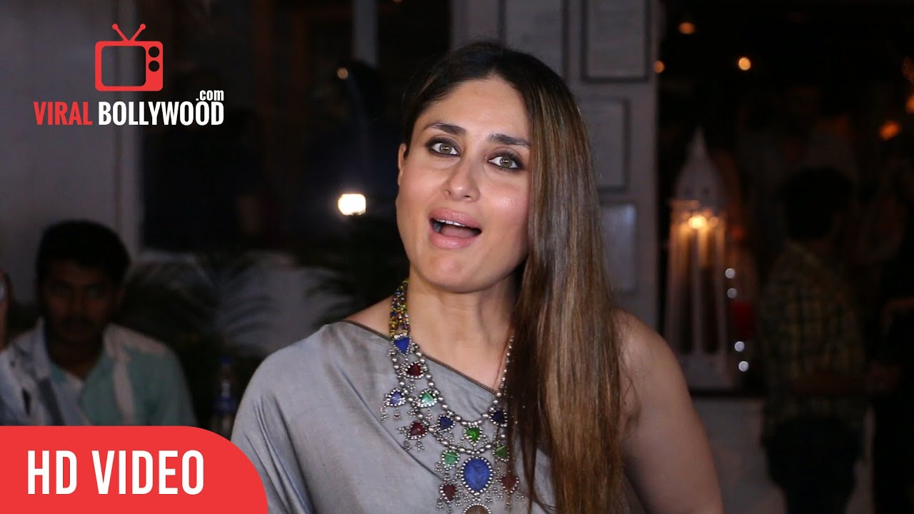 Kareena Kapoor At Ki  Ka Success Party  Viralbollywood