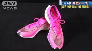 ナイキの「厚底シューズ」 東京五輪で使用可能に(20/02/01)
