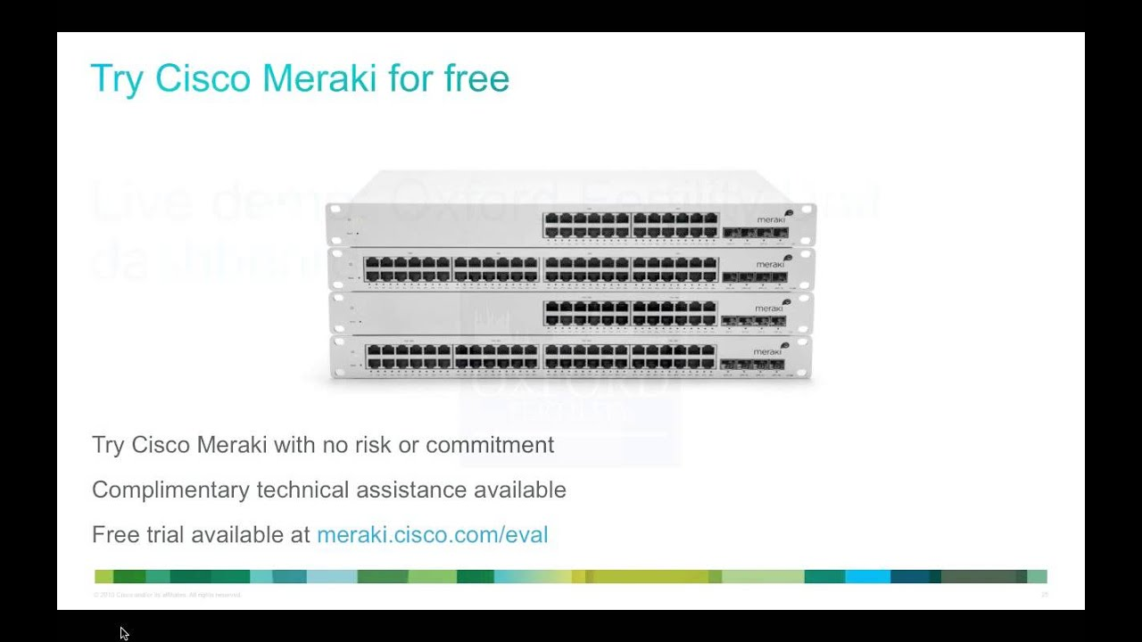 Optrics Partner - Cisco Meraki Wireless Networking