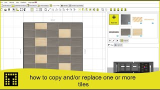 How to copy and/or replace one or more tiles