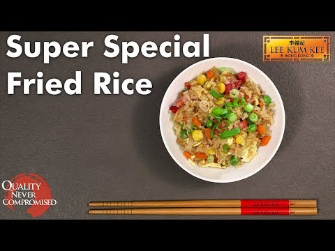 Super Special Fried Rice  特色炒飯 - Wok Along With Lee Kum Kee
