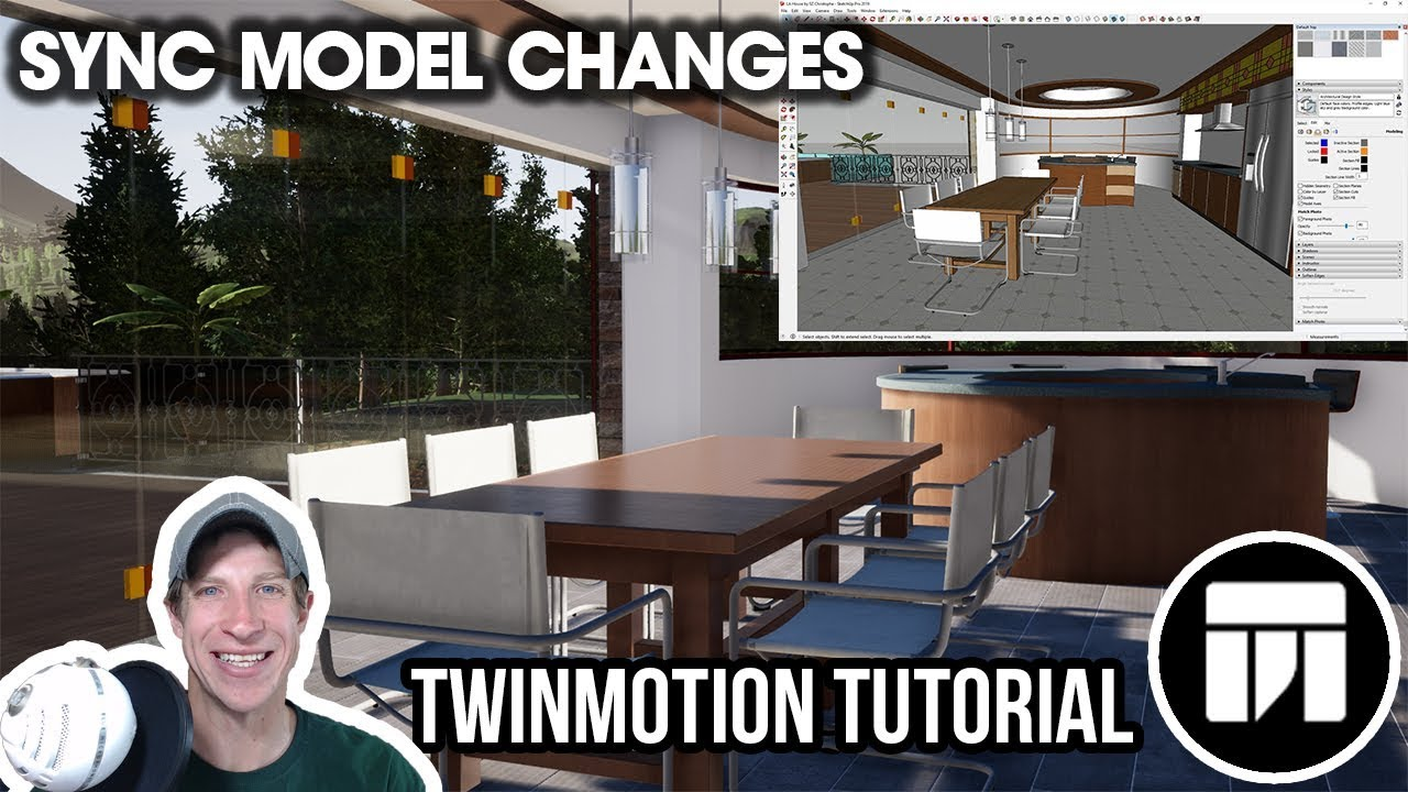 SYNCING SKETCHUP MODEL CHANGES in Twinmotion - Twinmotion