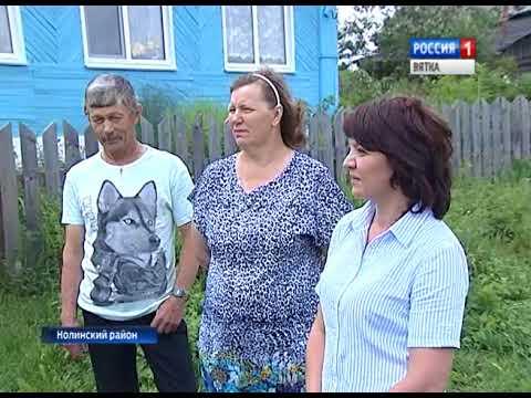 Благоустройство в деревне Липино Нолинского района (ГТРК Вятка)