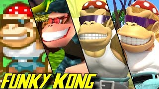 Evolution of Funky Kong (1994-2018)