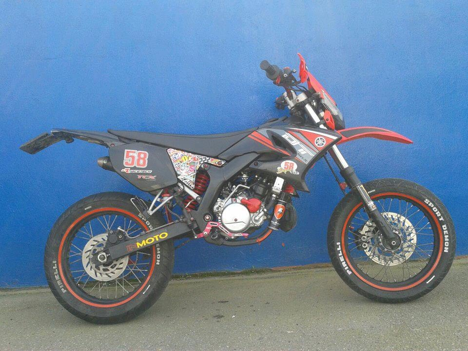 yamaha dt 50 x tuning and wheelie youtube. Black Bedroom Furniture Sets. Home Design Ideas