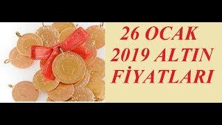 26,01,2019 Altın Fiyatları Dolar Fiyatları Euro Ne Kadar Sterlin Kaç Lira
