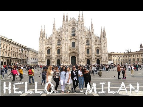 We Out Here In Milan | Travel Vlog
