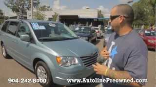 Autoline's 2010 Chrysler Town & Country Touring Walk Around Review Test Drive