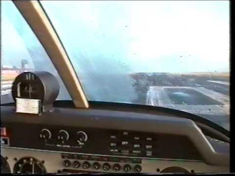 A short flight from Leeds Bradford Airport - December 1999