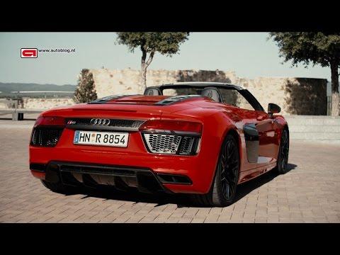 Audi R8 V10 Spyder review