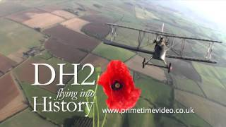 DVD Airco DH2 - Flight of remembrance - Wickenby to the Somme