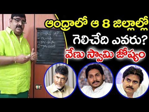 Venu Swamy Prediction on AP Future Politics | Pawan Kalyan | Jagan | Chandra Babu | Astro Masters