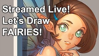 Drawing Anime Fairies