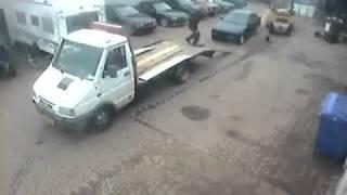 Carregamento de carro Fail