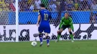 Asi Jugo Messi En La Final