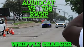 STOCK HELLCAT VS 426 WHIPPLE SUPERCHARGED CHARGER ON E85!!