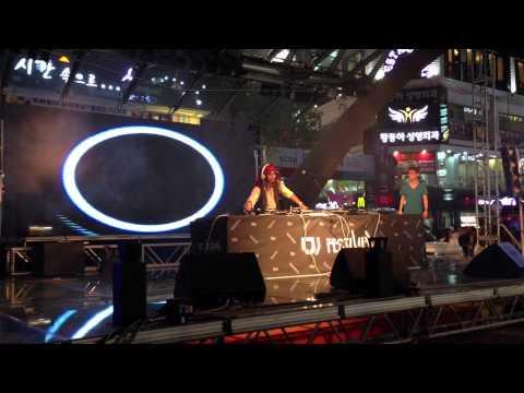 """CAPTAIN DJ KOJI PLAYED AT """"DJ FESTIVAL"""" IN DAEGU OF KOREA"""