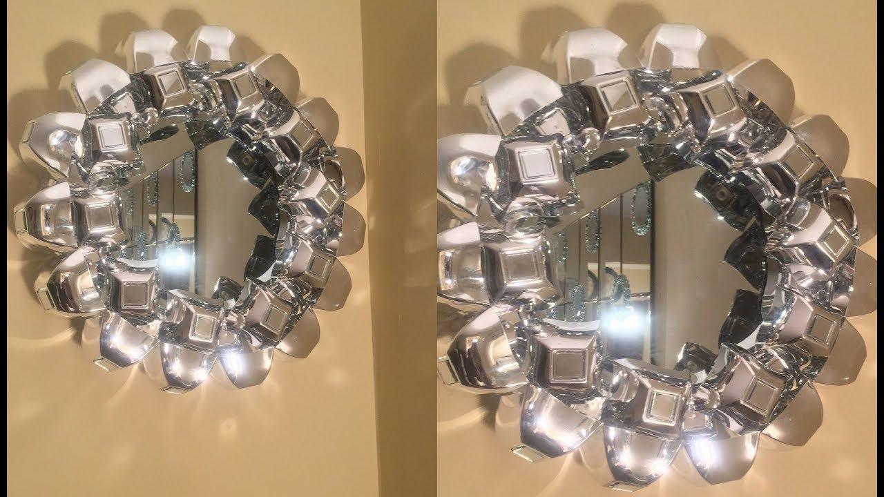 Dollar Tree/Michael's DIY    Easy Decorative Wall Mirror ...