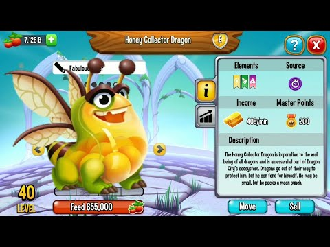THE NEW HONEY COLLECTOR DRAGON REVIEW Dragon city