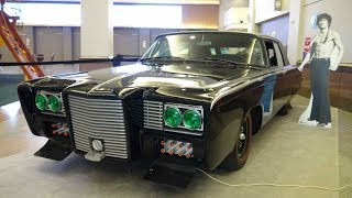 """Original """"Black Beauty"""" from The Green Hornet TV show at the Twin Cities Auto Show."""