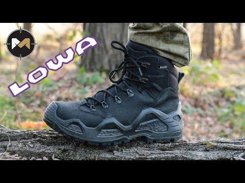 Видео: Ботинки моей мечты. Lowa Z-6N