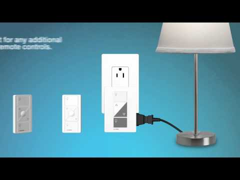 Caséta Wireless: Setting Up the Plug-In Lamp Dimmer Kit