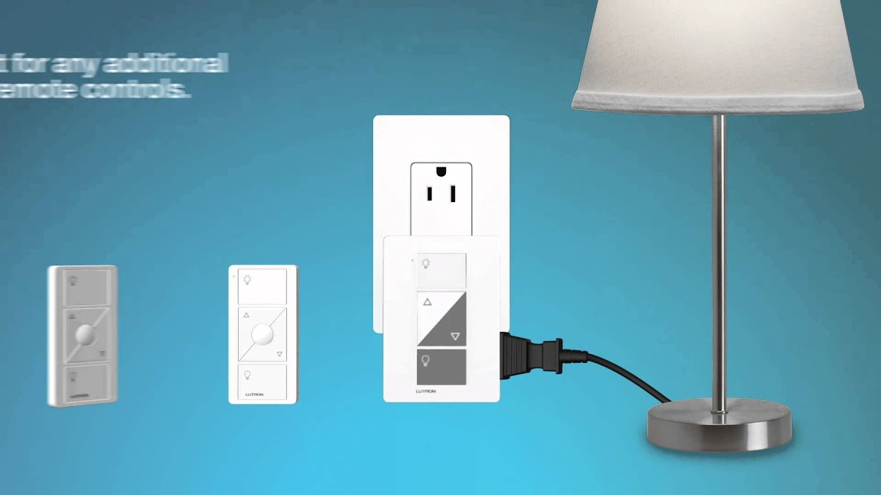 Cas 233 Ta Wireless Setting Up The Plug In Lamp Dimmer Kit