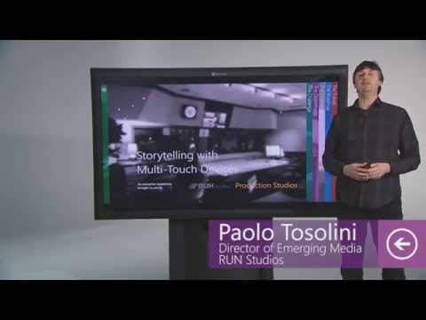 The future of interactive storytelling using multi-touch devices