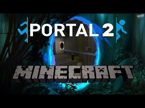 Minecraft Vanilla Portal Gun Adventure Map NO MODS!!! (Trailer For ApertureCraft Vanilla)