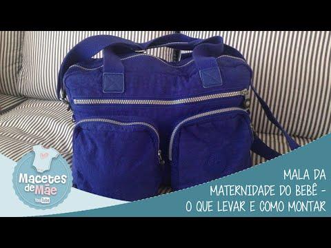 4e9ad410a Mala da maternidade do bebê - o que levar e como montar - MACETES DE MÃE