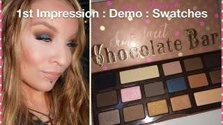 1st Impression : Demo : Too Faced Semi Sweet Chocolate Bar Palette Thumbnail