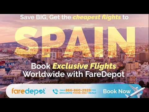 How to Find Cheap Flights to Spain