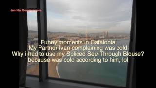 Funny moments in Catalonia - Cold vs My Spliced See Through Blouse