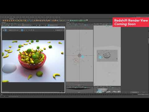 Redshift Frame Buffer IPR performance updates for Maya