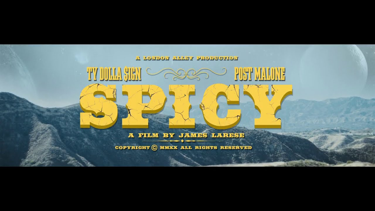 New Video: Ty Dolla Sign - Spicy feat. Post Malone