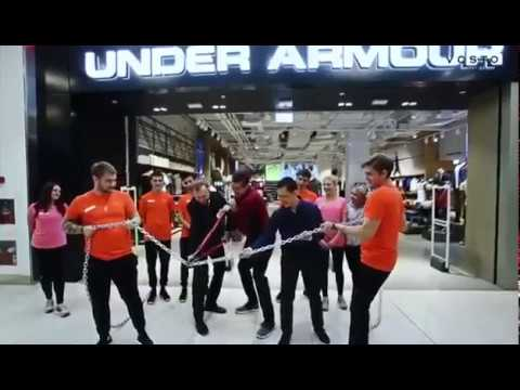 1st Under Armour in Russia, Moscow, METROPOLIS