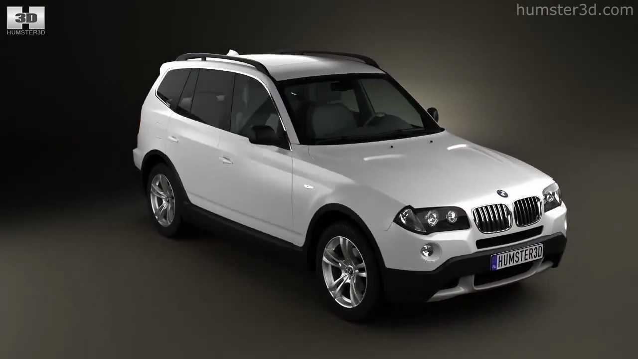 bmw x3 e83 2003 by 3d model store youtube. Black Bedroom Furniture Sets. Home Design Ideas