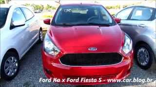 Novo Ford Ka 1.5 x Fiesta S 1.5 - comparativo - www.car.blog.br