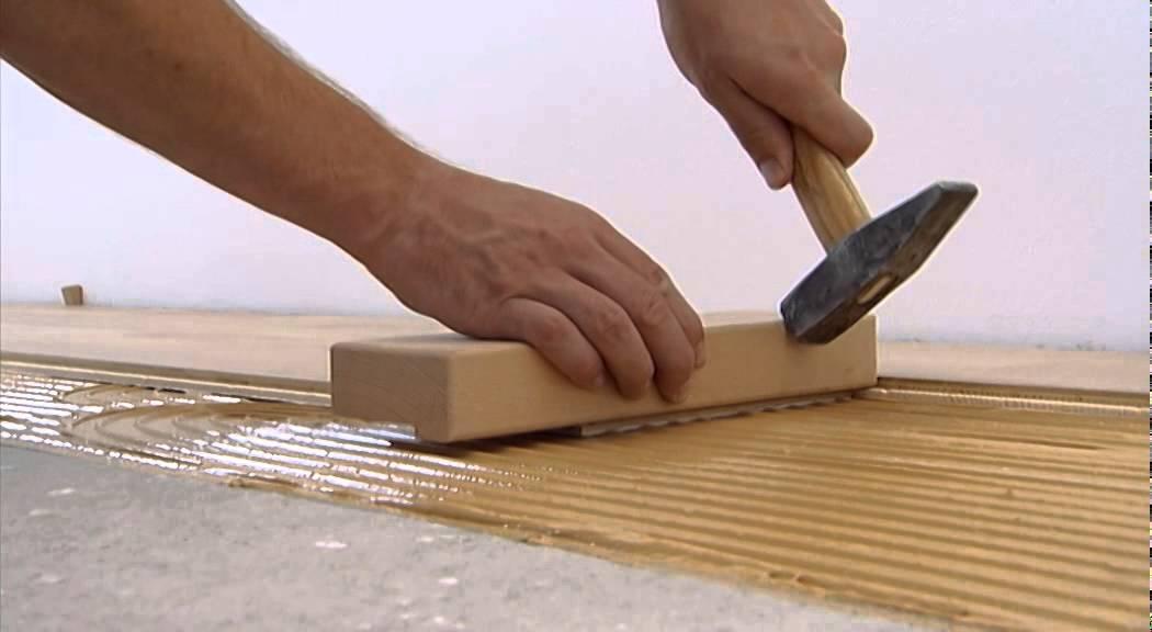 Gluing Of Tilo Parquet Floors