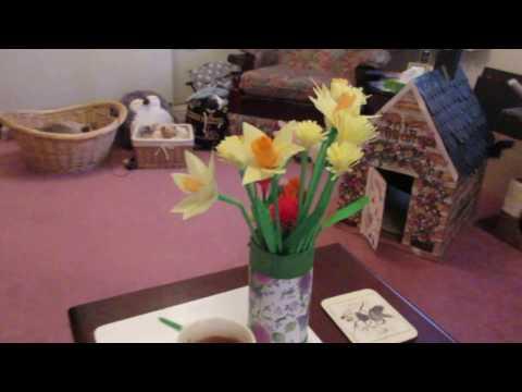 Paper Flower Tutorial - Part 5 of 6