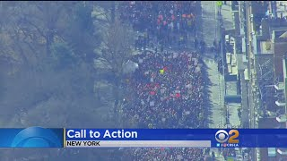 Women March Around The Country Demanding Equality
