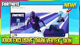 *NEW* FORTNITE DARK VERTEX XBOX ONE EXCLUSIVE SKIN BUNDLE COMING SOON | Fortnite Battle Royale News