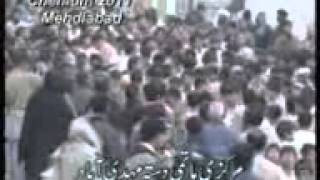 Chehlum-e-imam Hussain a.s  Mehdiabad 2011